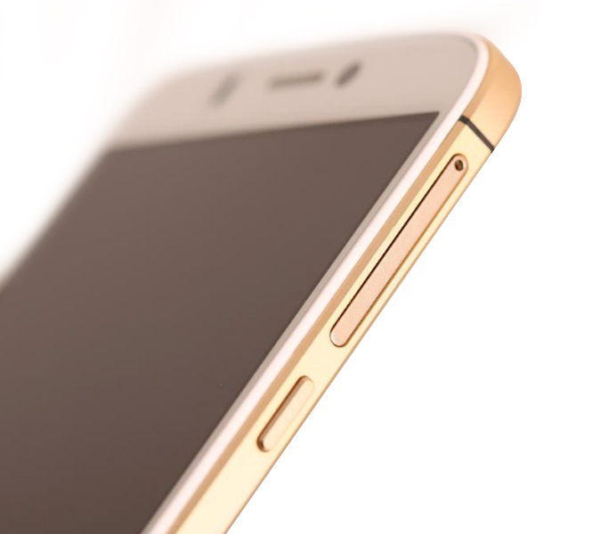 Micromax Canvas Gold A300 Side
