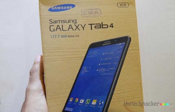 Samsung Galaxy Tab 4 SM-T231Box Shot