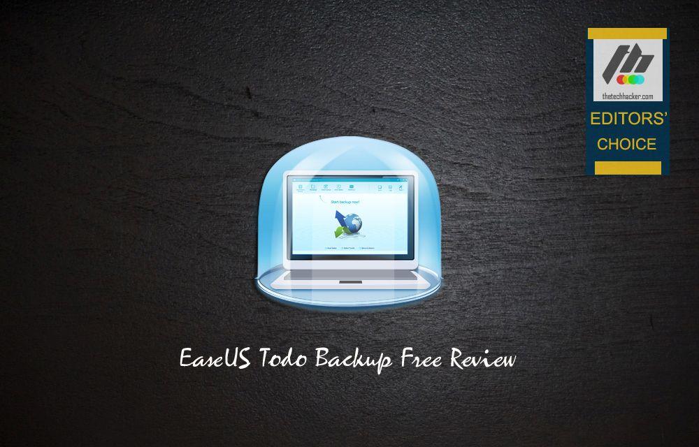 EaseUS Todo Backup Free Review