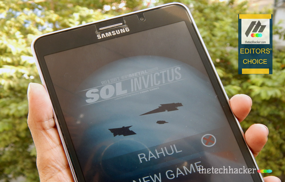 Sol Invictus: The Gamebook - Android Game Review