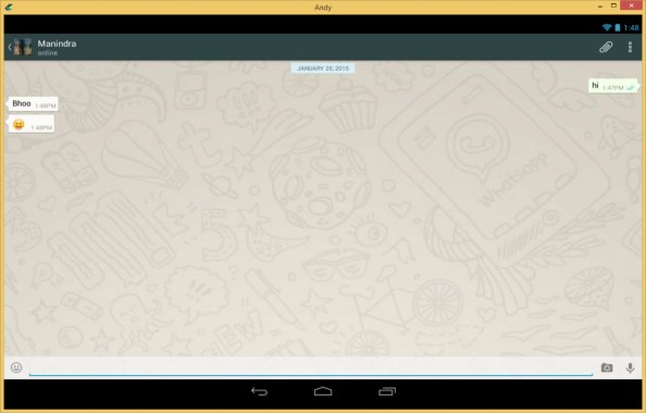 how to install whatsapp on pc free