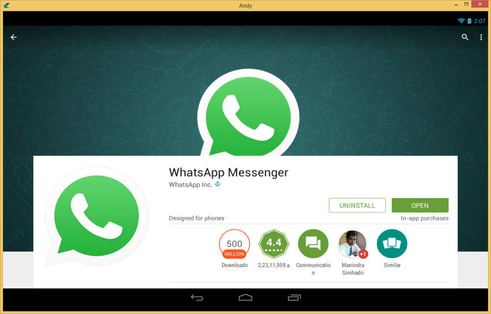 Download whatsapp for my pc now