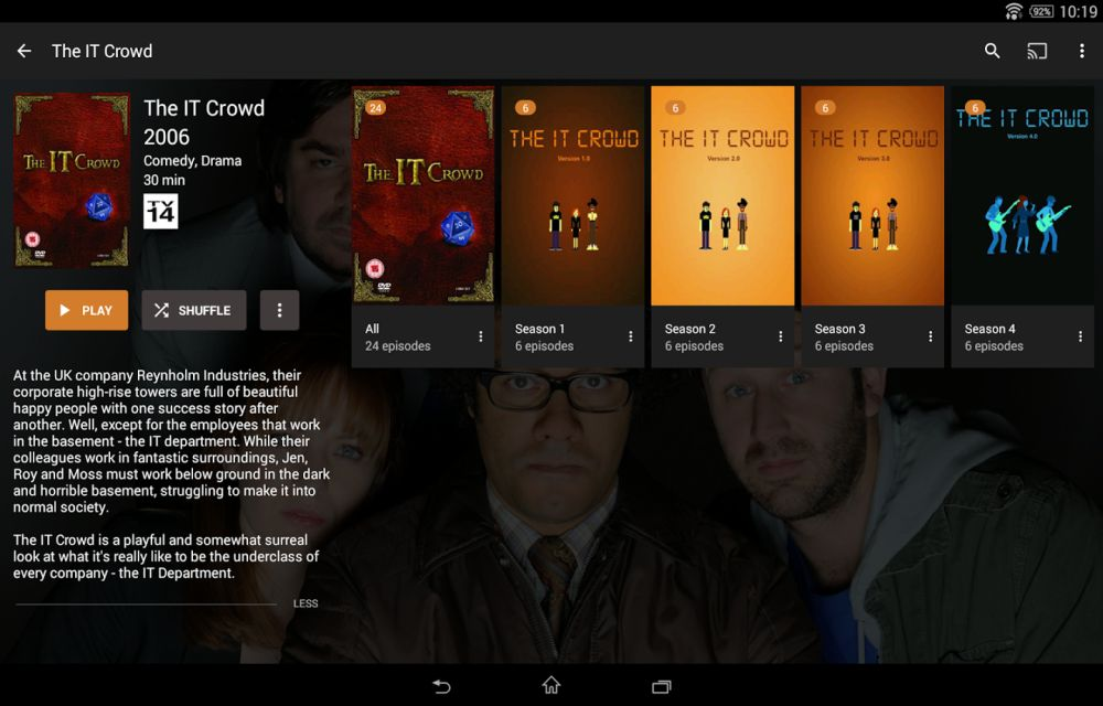 Plex for Android