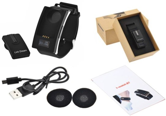 Link Dream Bluetooth Headset Box Contents