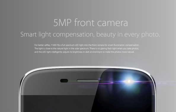 Front Camera Y100X