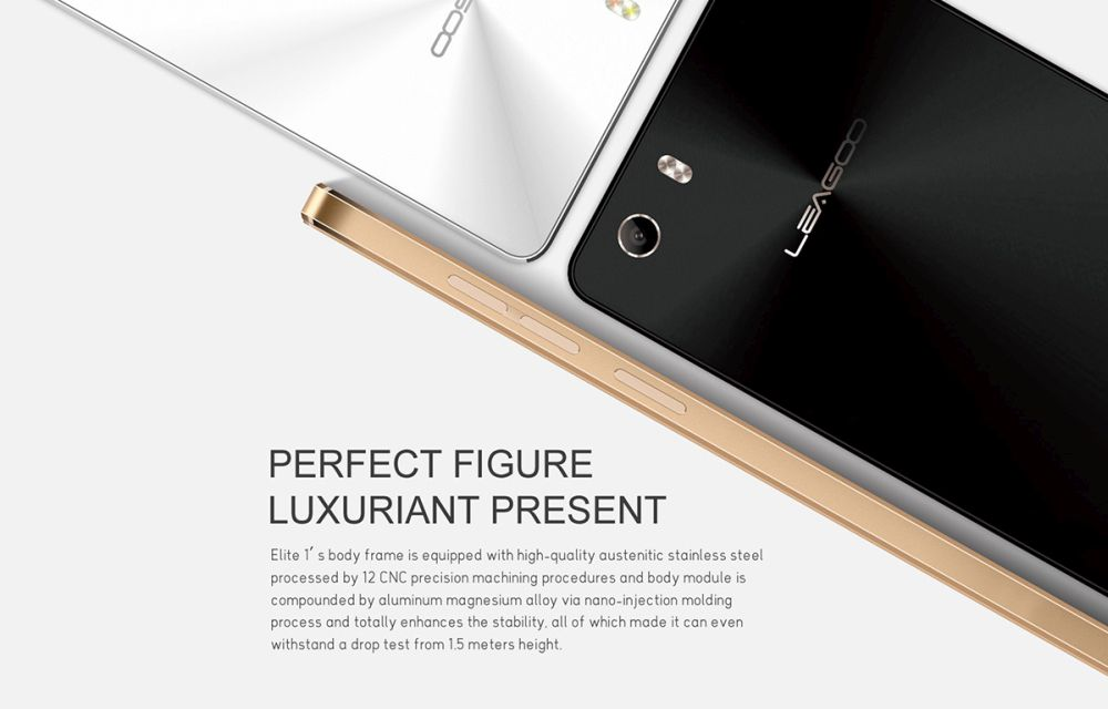 Leagoo Elite 1 Design