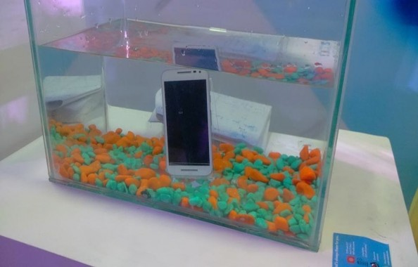 Moto G 3rd Gen is a certified water proof phone