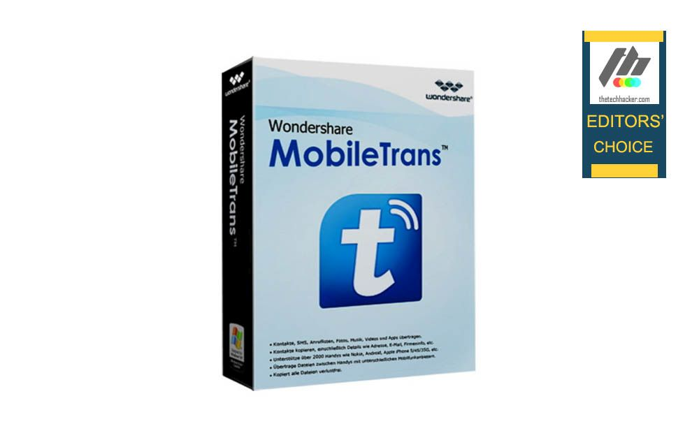 Wondershare MobileTrans Review