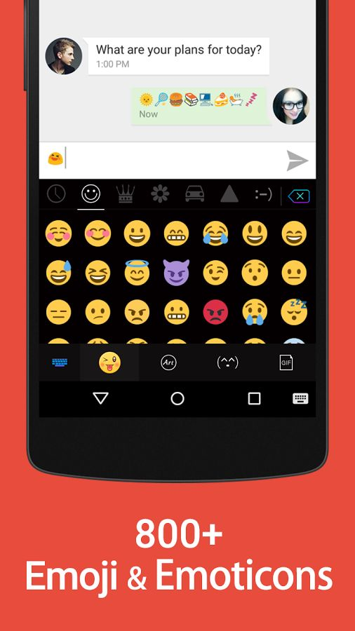 Kika Emoji Keyboard Review