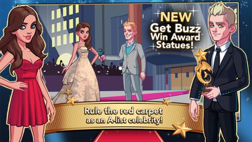 Stardom: Hollywood Game for iOS / Android