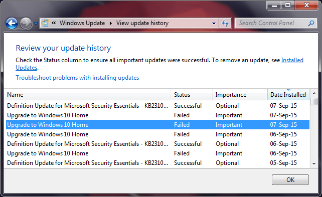 windows-update-history-failed