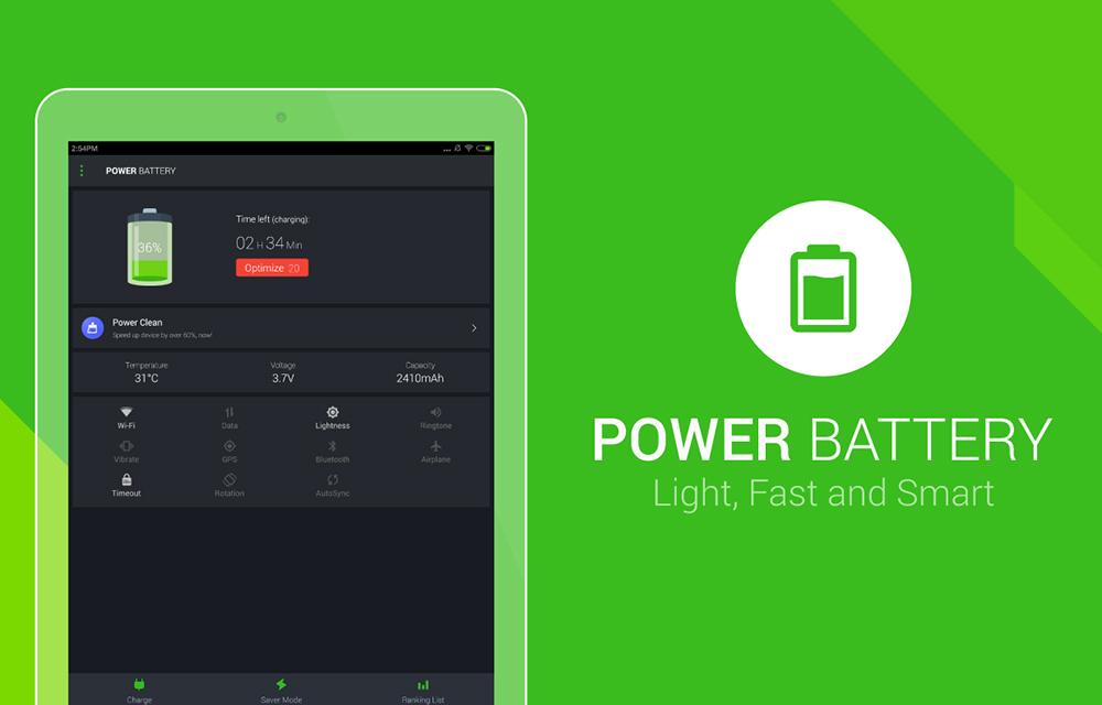 Power Battery - Battery Saver App