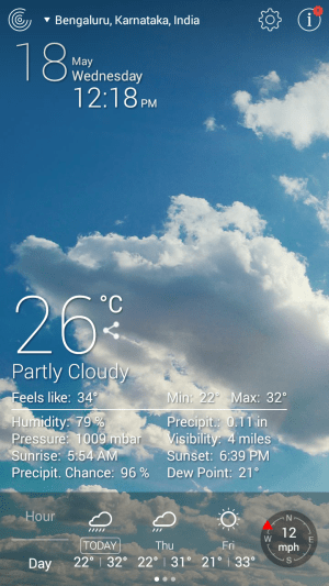Weather Live Free - Android App Review