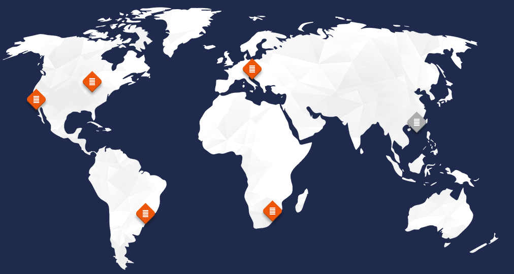 Different Locations of VPS Hosting