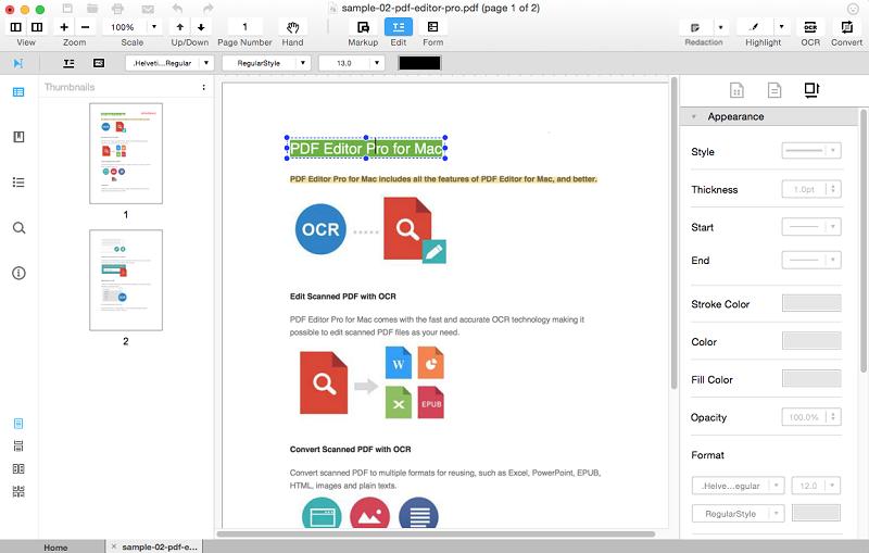 edit-pdf-text-iskysoft-pdf-pro-editor-for-mac