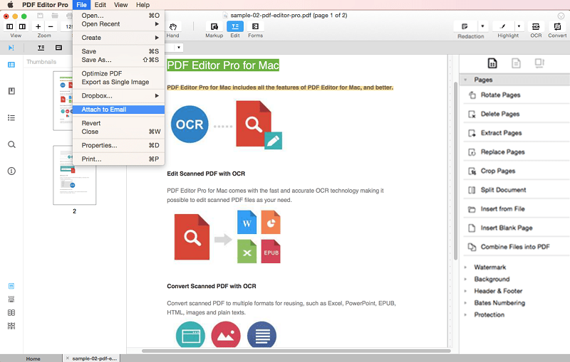 Review Of Iskysoft Pdf Editor 6 Professional For mac