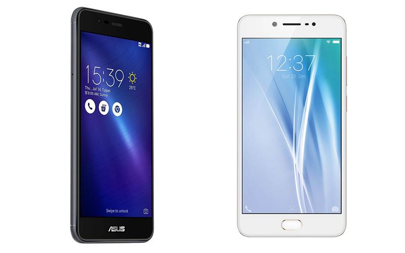 Asus Zenfone 3 Max vs Vivo V5