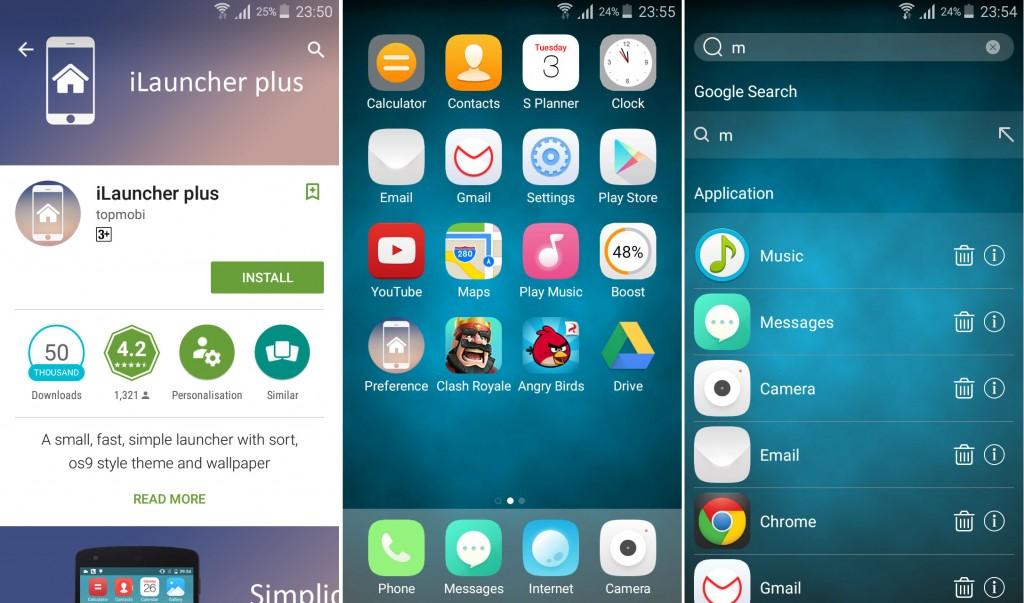 iLauncher Plus iPhone Like