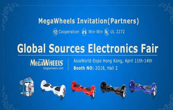 MegaWheels TW01 - Electronics Fair