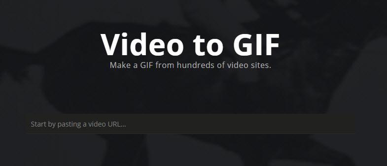 Imgur Convert Video to GIF