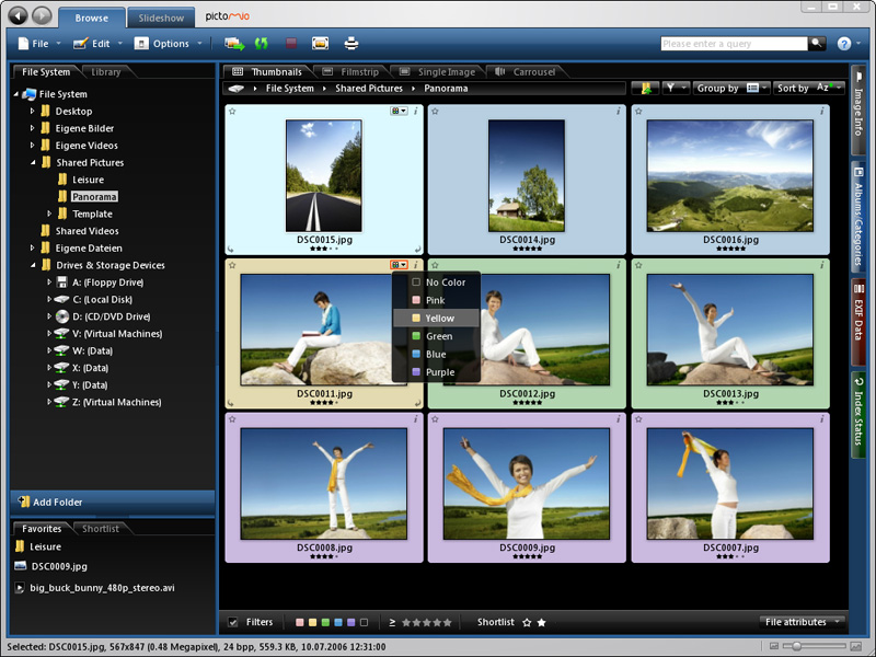Pictomio Image Management