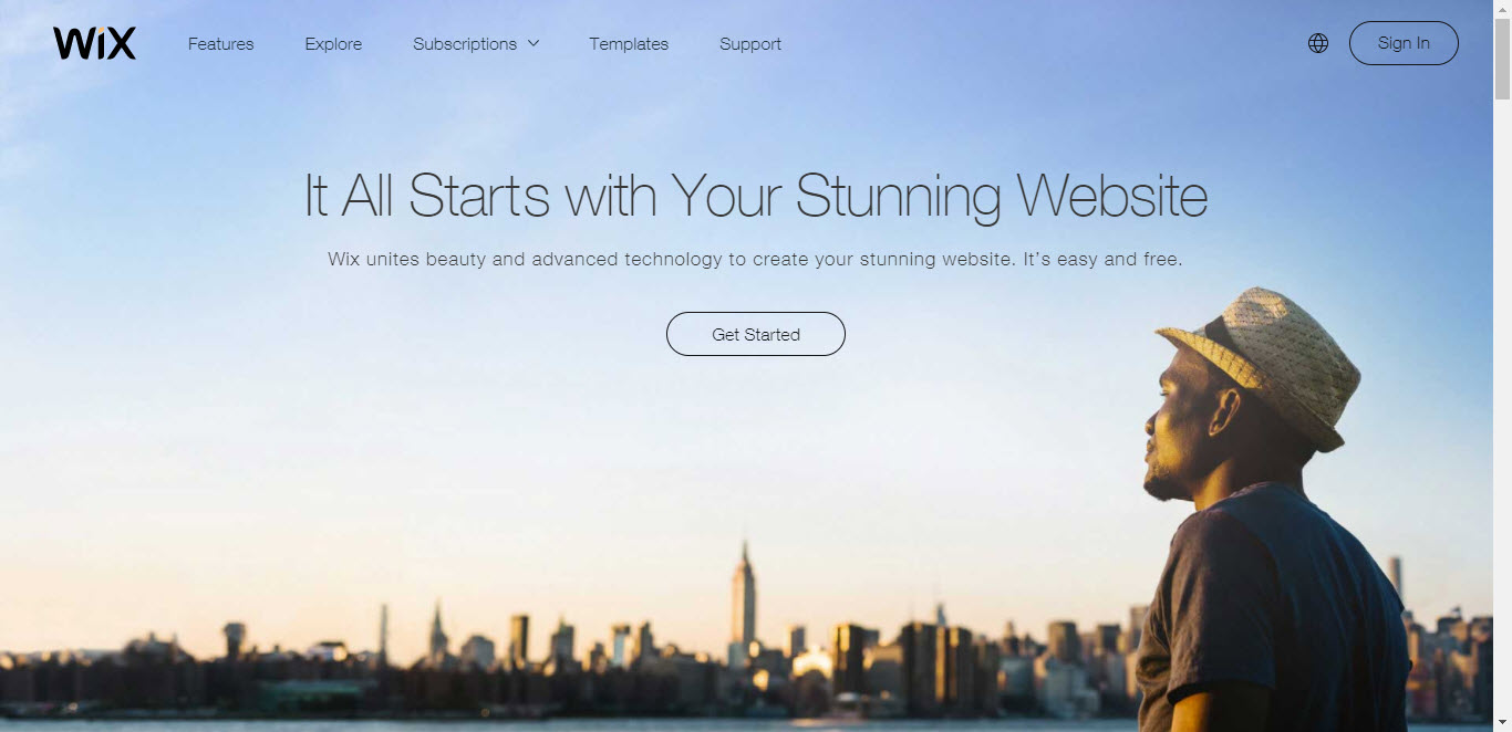 Create a Website with Wix 1