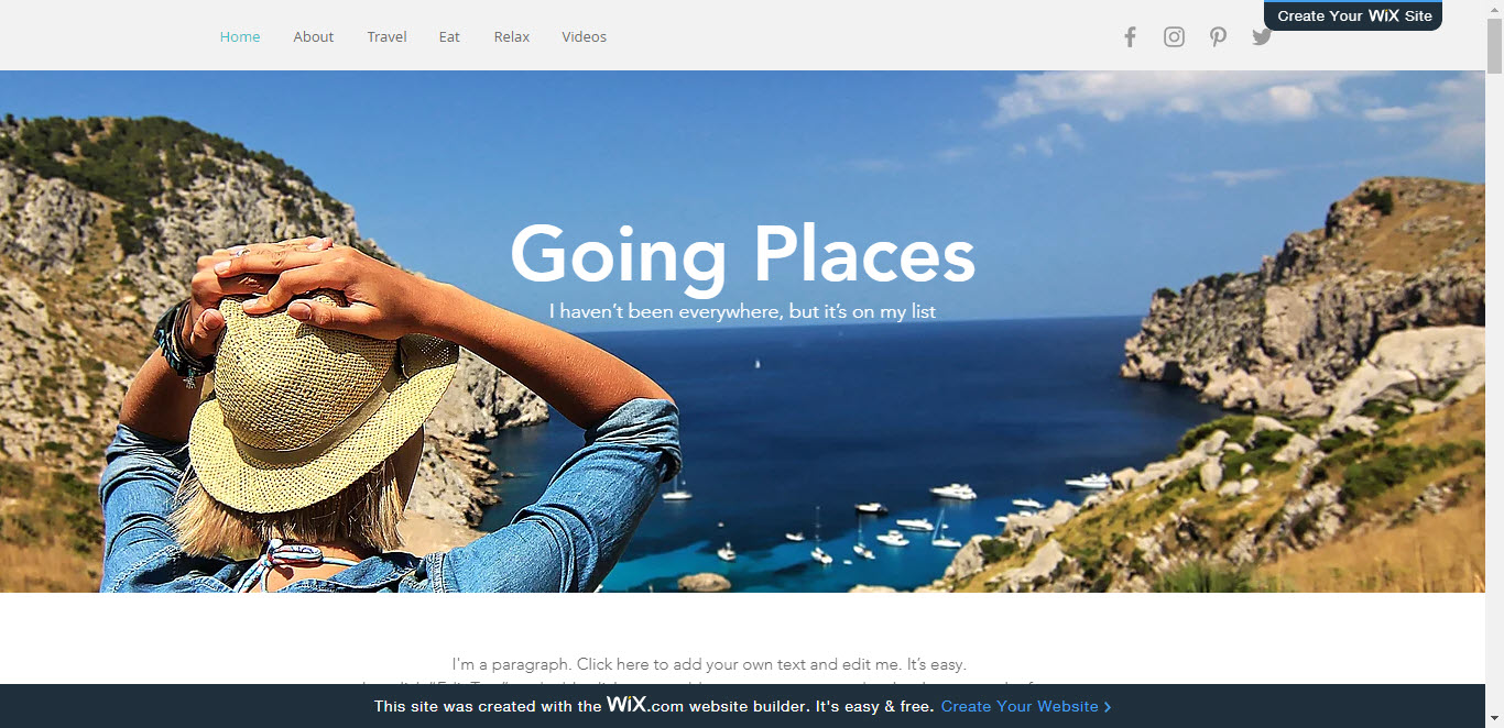 Create a Website with Wix 12
