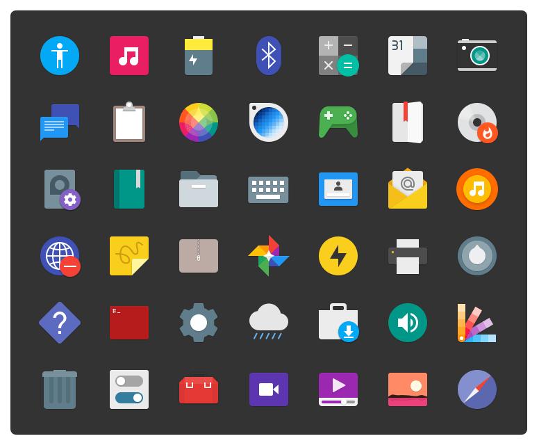 Paper Icons Theme