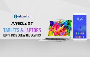 Teclast Tablets and Laptops available with Special Discounts – Geekbuying April Savings