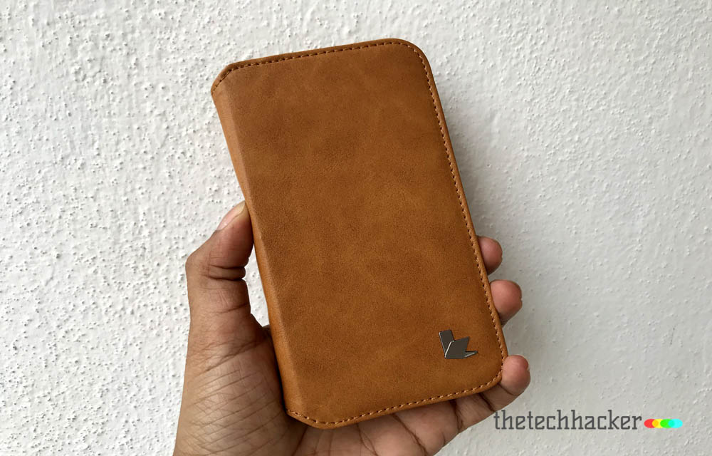 Jisoncase Microfiber Leather Wallet Case for Apple iPhone X - Review