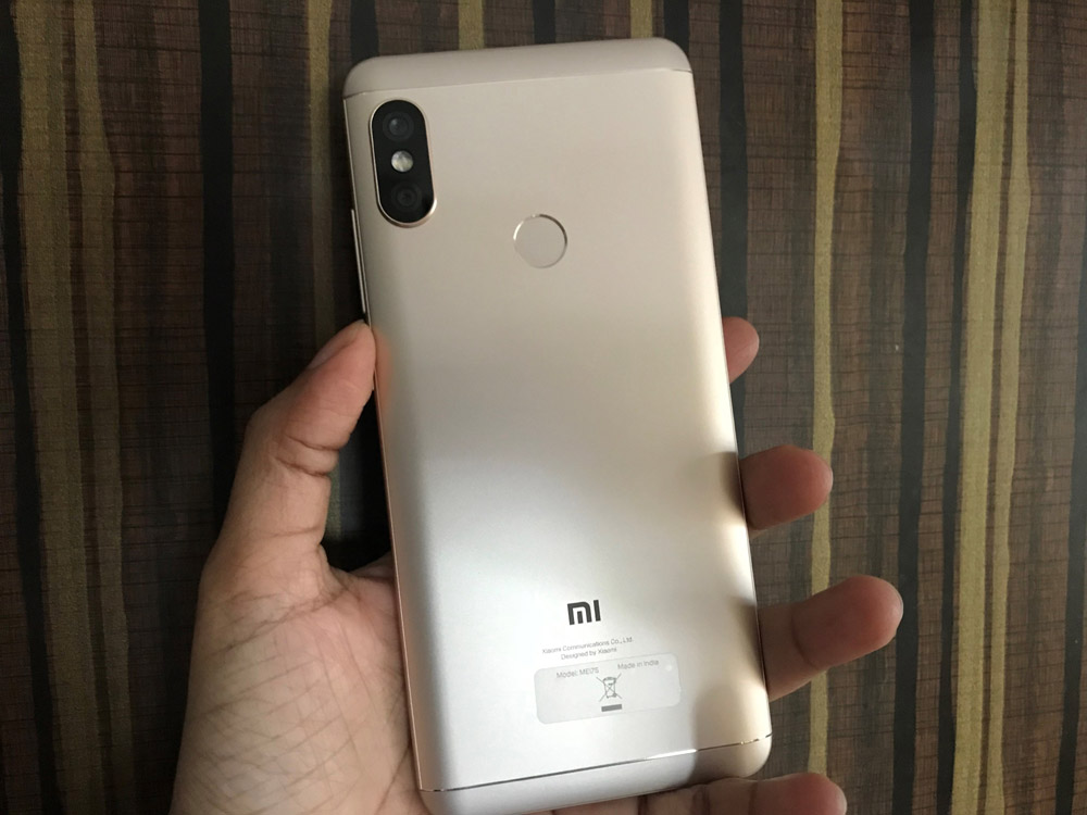 Xiaomi Note 5 Pro Design