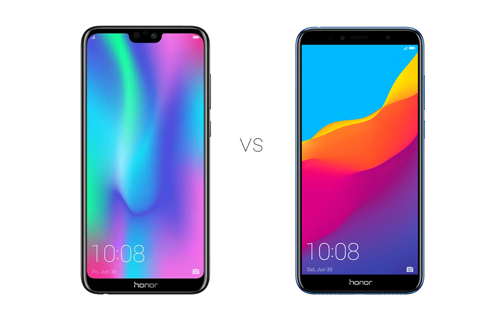 Honor 9N vs Honor 7A Comparison