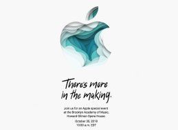 Apple October 30 event