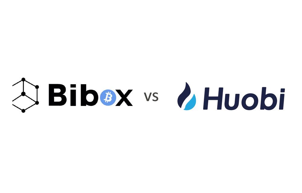 Bibox vs Huobi Exchange Comparison
