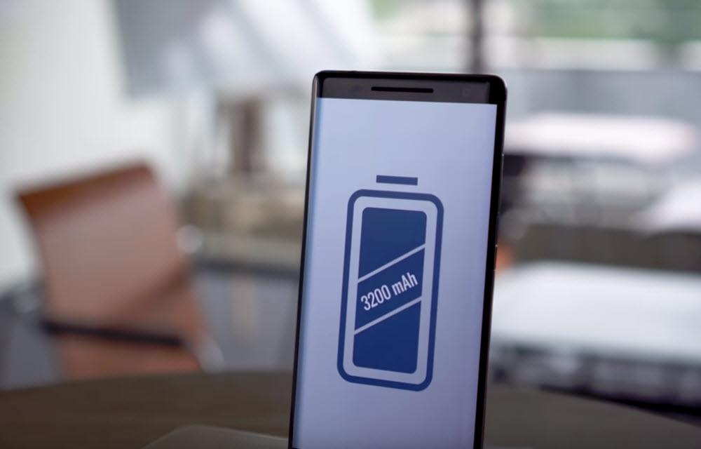 Nokia 8 Sirocco Battery