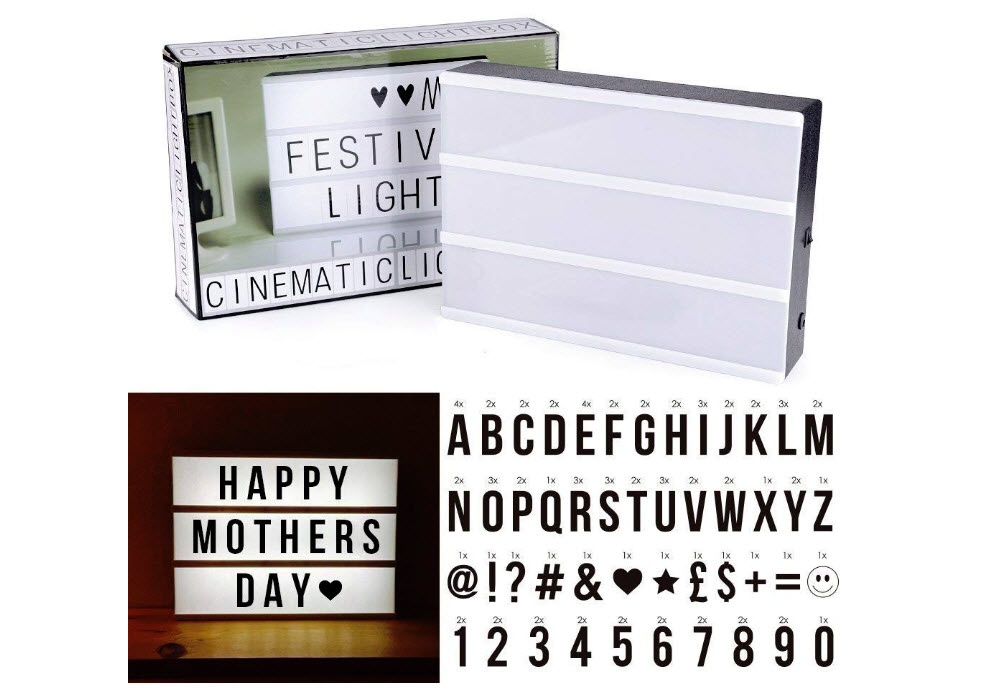 Cinema Light Box Super Perfect DIY LED Cinematic Light Up Box