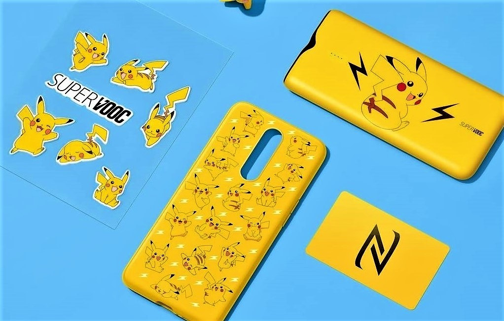 OPPO Launches A SuperVOOC Power Bank & Two Pikachu Themed Covers For R17 Pro