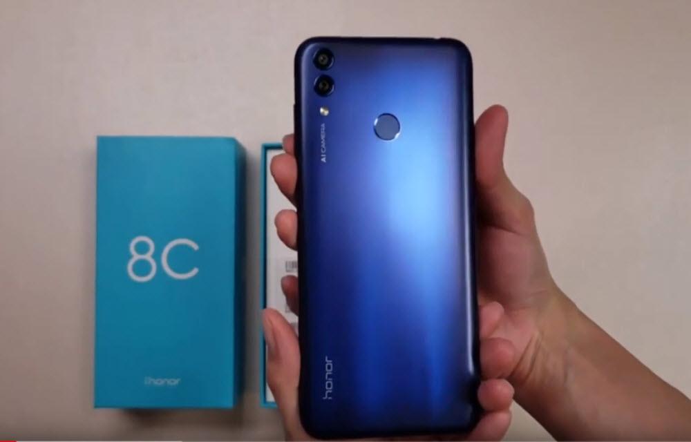 Huawei Honor 8C Design