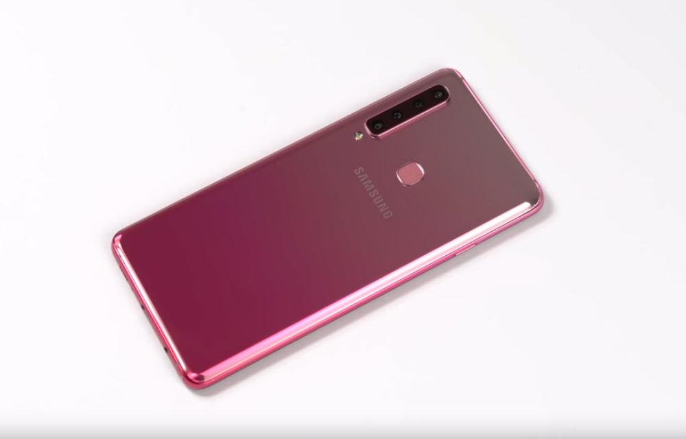 Samsung Galaxy A9 (2018) Design