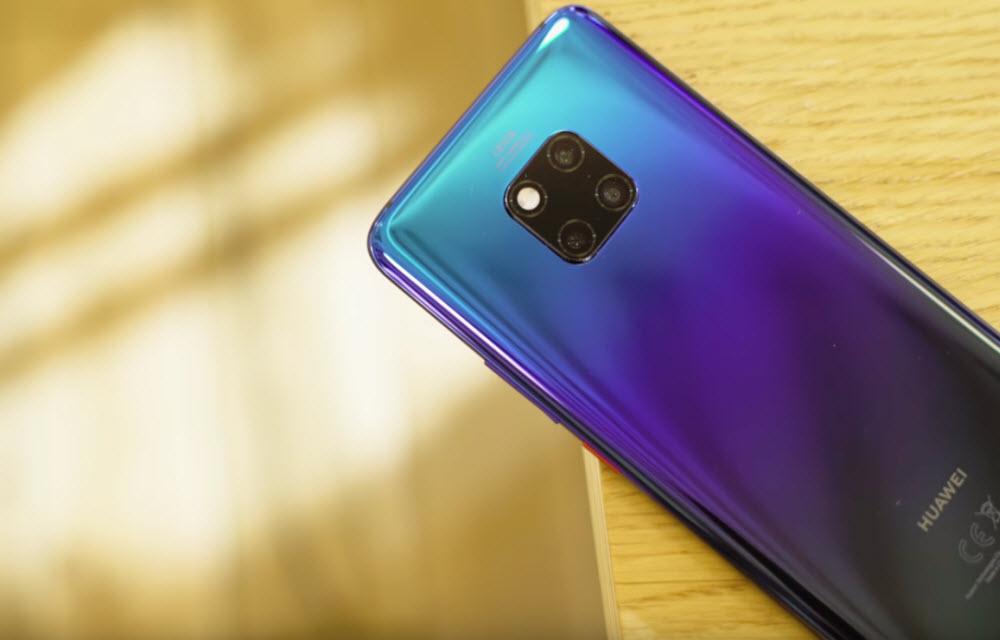 Huawei Mate 20 Pro Design