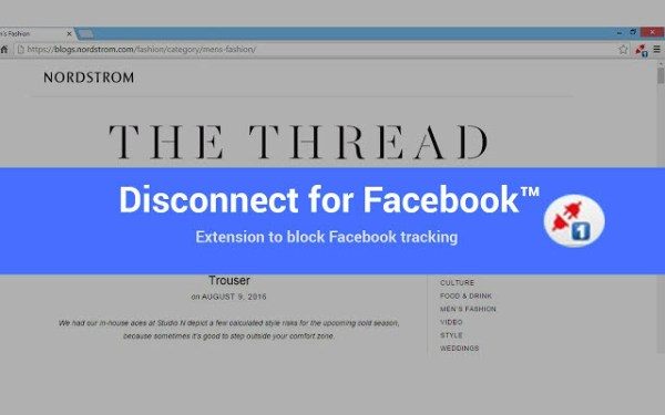 Disconnect Facebook™ pixel & FB™ tracking