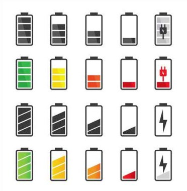 Know the battery icon