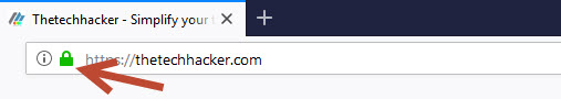 Use HTTPS-enabled sites only