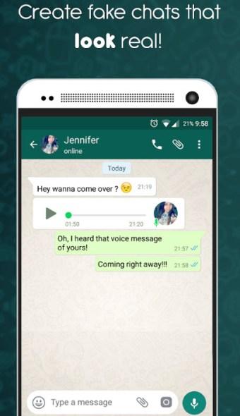 Fake Chat Conversations