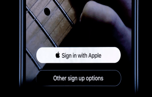 Sign In with Apple feature
