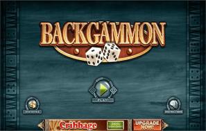 Windows 7 Backgammon