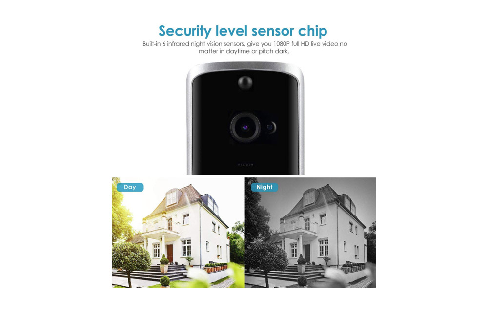 Get a Wireless Video Doorbell Camera for your home at just $54