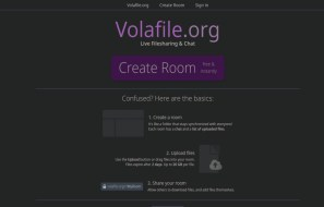 Volafile.org is a chat room service with anonymous file sharing