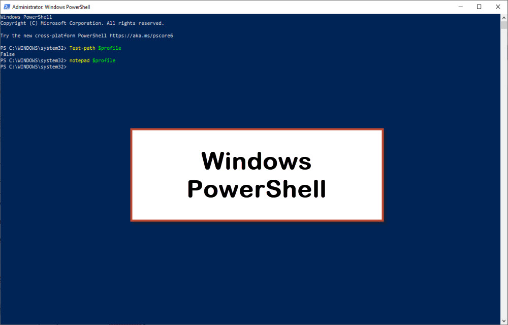 How To Create A PowerShell Profile On Windows 10