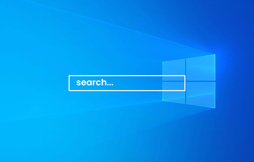 Clear Windows 10 Search History